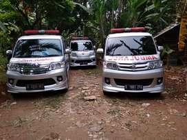 Ambulance dan mobil jenazah