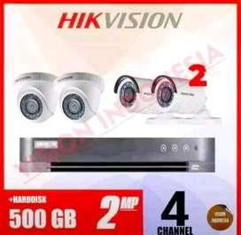 Pemasangan kamera CCTV di area Petir Serang