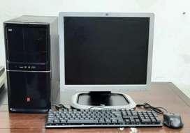 "Iball Computer Set Intel i3 4Th Generation + 17"" Monitor + All"