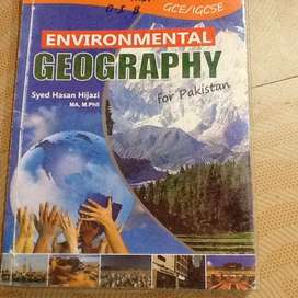 Environmental geography o level textbook by syed hassan hijazi