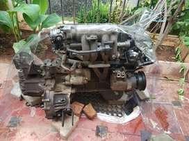 HYUNDAI accent engine petrol