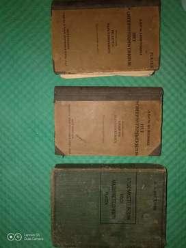 Buku antik, kuno tentang mesin uap