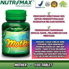 Nutrimax mother best isi 30 tablet multivitamin gizi nutrisi ibu hamil