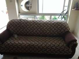 3 seater sofa for sale with 2 chairs and 2 seater side sofa