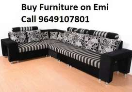 Buy New sofa set 8599, L Shape sofa set 14000, Emi available on 0%