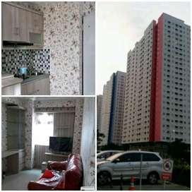 MURAH!!Sewa Harian green pramuka-Full furnish 2BR- Tower Baru Atas Mal