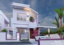 Affordable Premium villas starting 30.90L | @ Chandranagar, Palakkad
