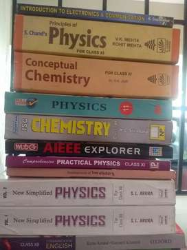 Text books - physics, chemistry for Plus 1&Plus 2.