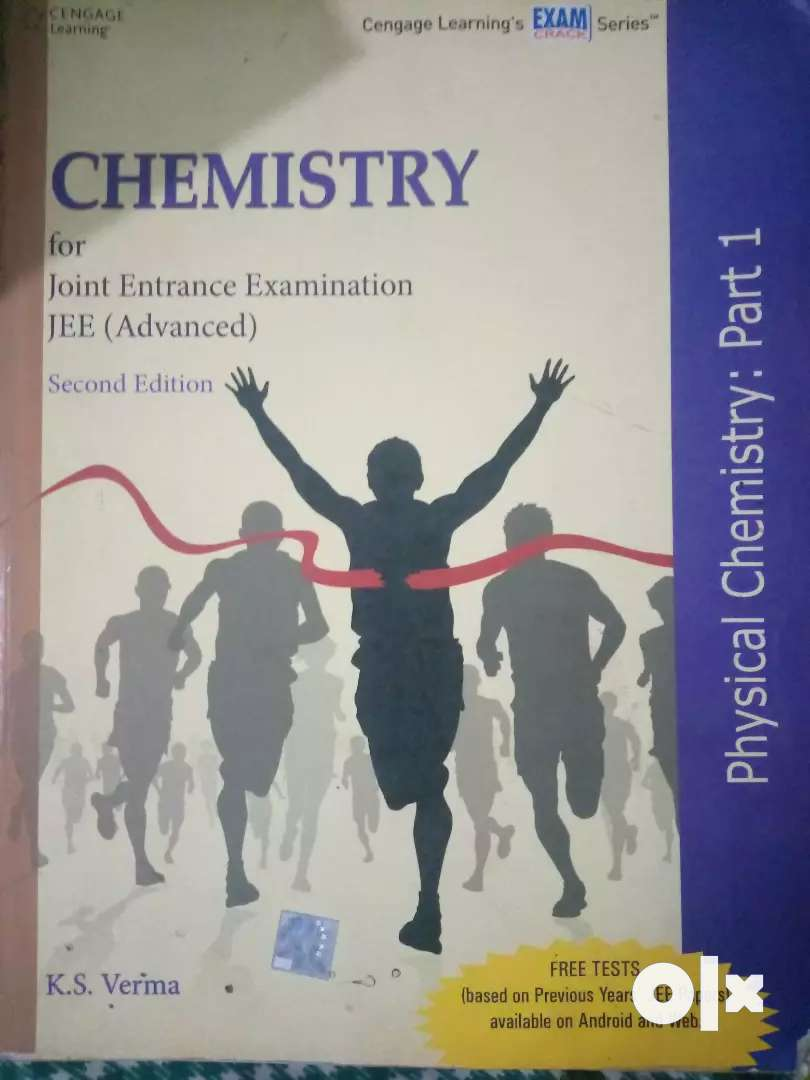 Physical chemistry cengage publication for IIT JEE main and advanced 0