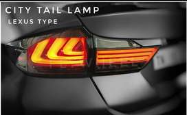 Honda city led tail light lexus style