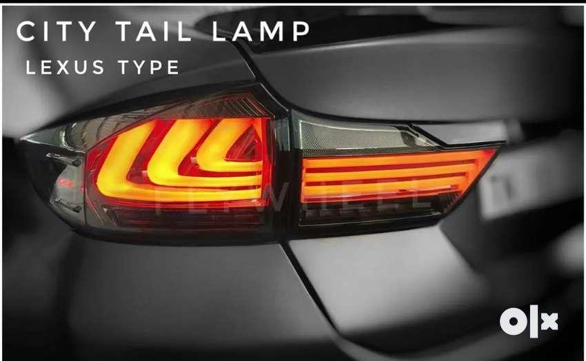 Honda city led tail light lexus style 0