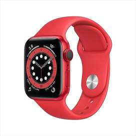 Apple Watch Series 6 40mm Red New Ready Bisa COD / Kredit
