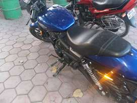 Harley Davidson street 750 blue color