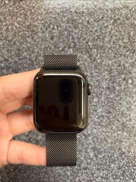 Apple watch series 5 40mm stainless steel black