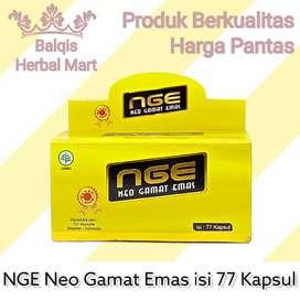 Kapsul NGE Neo Gamat Emas isi 77 kpsl