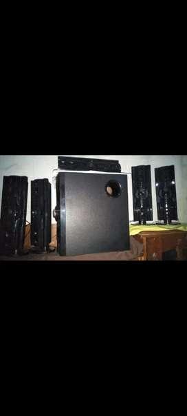 Home theater speaker sistem 5.1 (daisan)