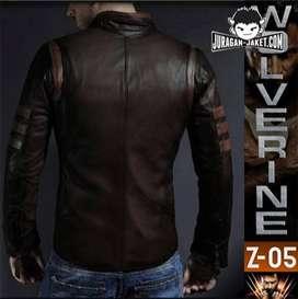 jaket kulit x-man origins