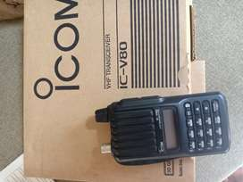 HT icom V80 lengkap dus buk