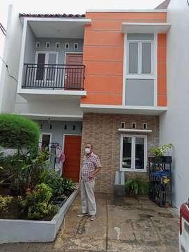 Rumah 2 Lantai Siap Huni Jatiasih Bekasi,7 Menit Ke Pintu Tol Jatiasih
