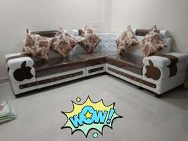 Brand new sofa set L shape available on factory prices
