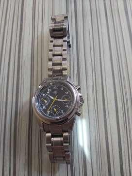 Jam tangan fusion excel unisex.quartz.chrono