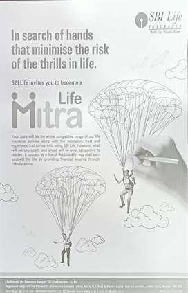 SBI life insurance recruiting Life Mitra for Dwarka branch, New  Delhi
