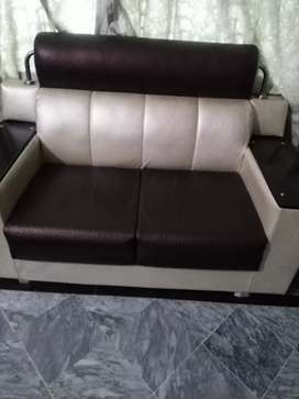 Good loking 2 sofa set vip