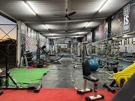 Used gym setup      price 335000