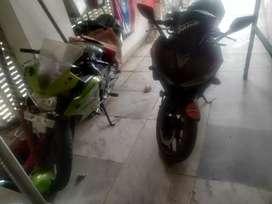 Yamaha r3.    Black.