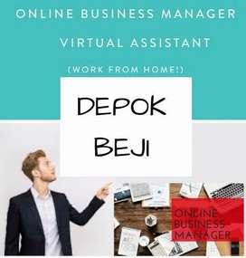 LOWONGAN KERJA > ONLINE BUSINESS MANAGER AREA DEPOK BEJI