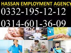 Maid provider Hassan employment agency no 1 company
