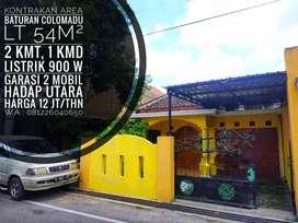 Kontrakan Area Baturan, Colomadu, Dekat Fajar Indah, Rs JIH, Samsat