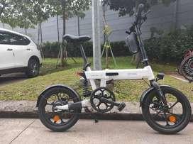 Sepeda listrik Himo Z16 Modif Controler. Bisa ngebut.