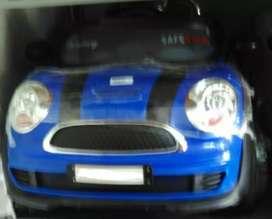 Mobil aki mainan kendaraan minicoper 2wd baru fulset
