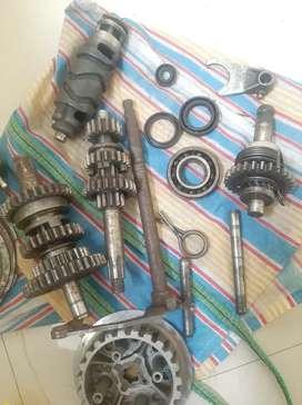 Gear box yamaha rx 100