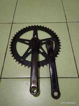 Crank singel 48T lepasan Folding Flash