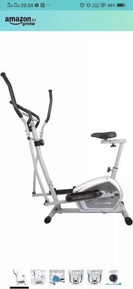 Wellcare elliptical with excercise cycling