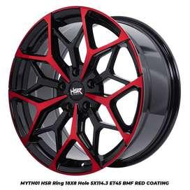 pelek racing crv model MYTH01 HSR R18X8 H5X114,3 ET45 BK-RED