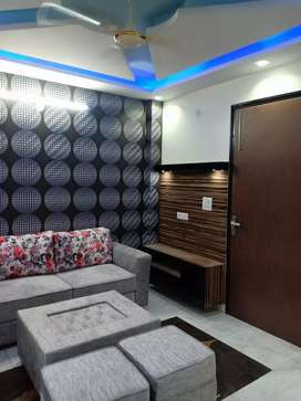 60 SQ yards fully furnished flat 26 lacs with car parking 90% loan