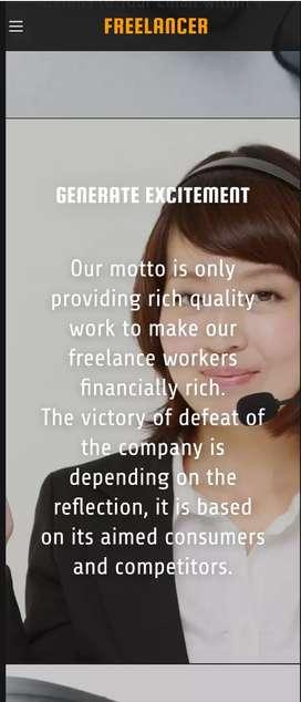 Part time genuine freelancer job..