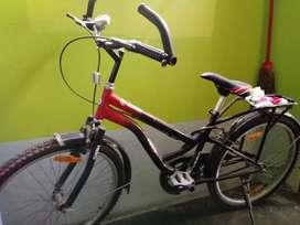 New bicycle -hero