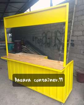 Booth container/booth usaha/container bazzar/container makanan/booth