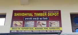Carpanter work timber