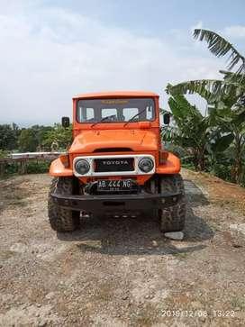 Dijual Toyota Jeep Hardtop FJ40 4x4 1976 Mulus, kondisi Gaspol