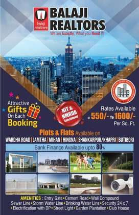 Best Plots available for Residential/Investment in Wardha Road, Nagpur
