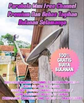 PARABOLA MINI FREE CHANNEL PREMIUM KOTA PADANG PANJANG (SUMBAR)