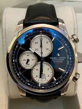 Maurice LaCroix Pontos Chronograph PT6288-SS001-330 Pre-Owned