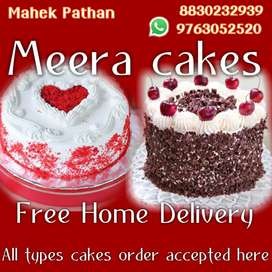All types cakes order accepted