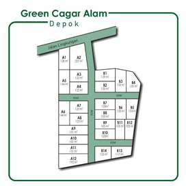 Kavling Area Ratu Jaya. Legalitas SHM. Hanya 4 Jt-an/m2