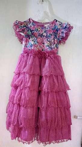 Preloved gaun anak merk Princessa